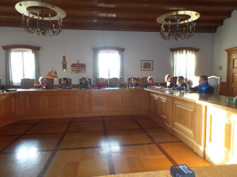 Im Sitzungssaal